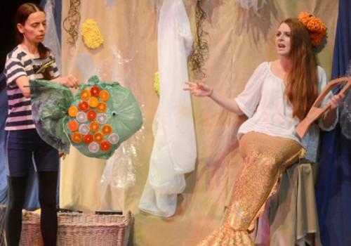 Der Glitzerschuppenfisch / Foto: klexs-theater.de/