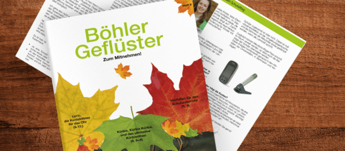 Böhler Geflüster Herbstausgabe 2019